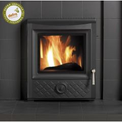 Esse 301 DEFRA Approved Inset Multifuel Stove - Black Diamond Cast Door