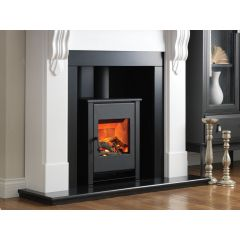 Flamerite Fires Corbel With Atom Stove