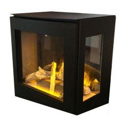 Evonicfires Evoflame Banff3 Electric Stove - Black