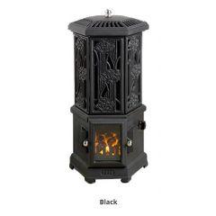 Esse Solo Thermostatic Electric Stove - Matte Black