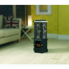Esse Solo Thermostatic Electric Stove - Polished Steel