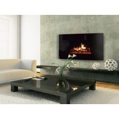 Celsi CLCDCGRE Puraflame Curved Wall Mounted Electric Fire