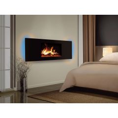 Celsi CLCDPGRE Puraflame Panoramic Wall Mounted Electric Fire