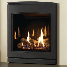 Yeoman CL 530 Natural Gas Inset Fire, Conventional Flue with Programmable Thermostatic Remote Control