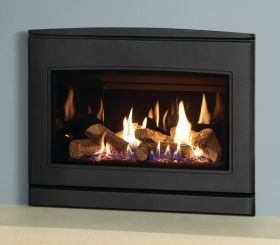 Yeoman CL 670 Natural Gas Inset Fire, Balanced Flue with Programmable Thermostatic Remote Control