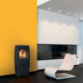 Dovre Sense 200 Wood Burning Stove - Matte Black