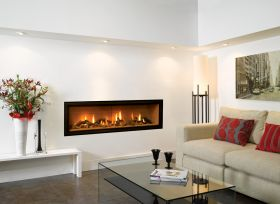 Gazco Studio 3 Glass Fronted Balanced Flue Gas Fire