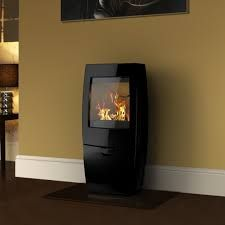 Dovre Sense 200 Wood Burning Stove - Gloss Black Enamel