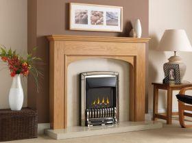 Valor Homeflame Excelsior Slimline Gas Fire - Pale Gold Shelf Wear