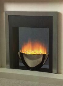 Flamerite Essence Sonata Remote Control Electric Fire - Silver