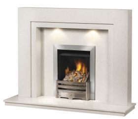 Caterham Westminster 54 Inch Fireplace - Branco Veios
