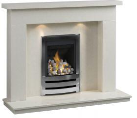 Caterham Palma 48 Inch Fireplace - Bianca Beige