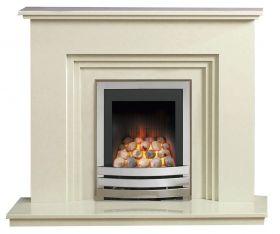 Caterham Dorset 48 Inch Fireplace - Bianca Beige