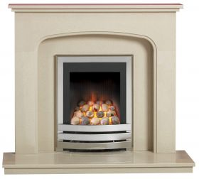 Caterham Winchester 42 Inch Fireplace - Beige Marfil
