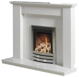 Caterham Heathfield 50 Inch Fireplace - Arctic White