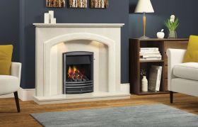 Be Modern Andorra 52 Inch Fireplace - Manila Micro Marble