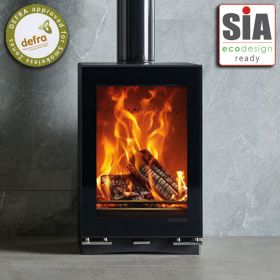 Stovax Vision Medium Wood Burning / Multifuel Eco Stove