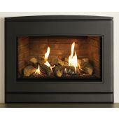 Yeoman CL 670 Natural Gas Inset Fire, Conventional Flue with Programmable Thermostatic Remote Control